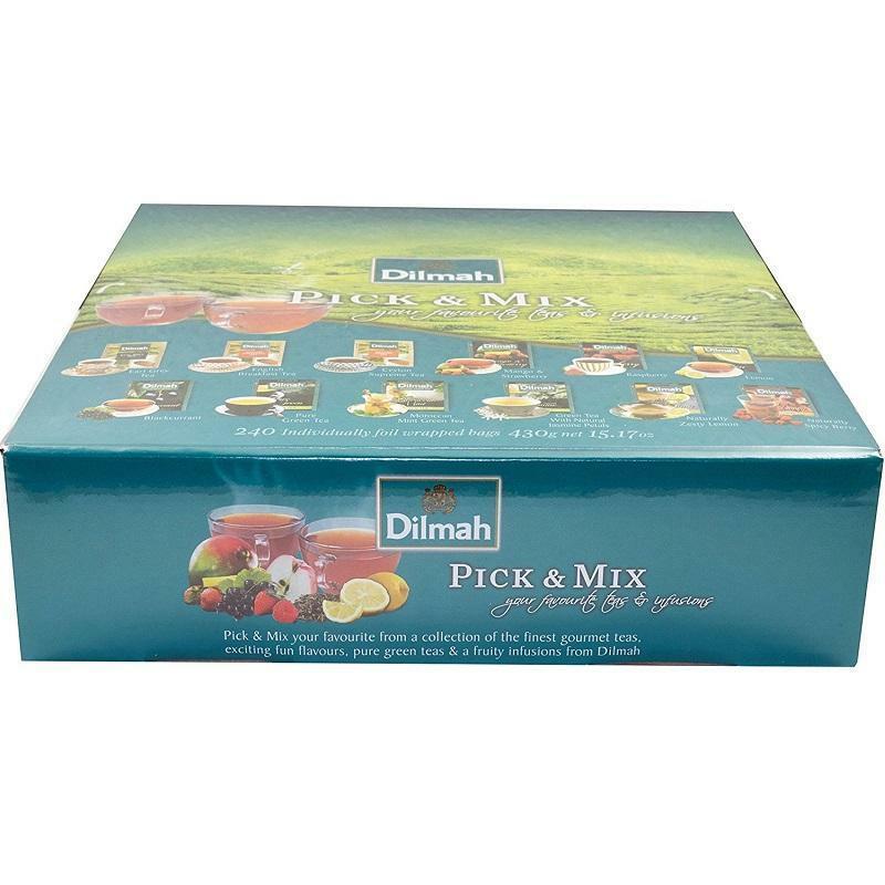 dilmah dilmah pick & mix 240 filtri your favourite tea & infusion