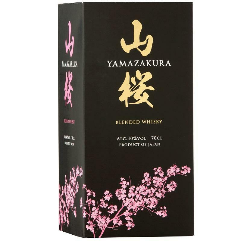 yamazakura yamazakura blended whisky 70 cl in astuccio