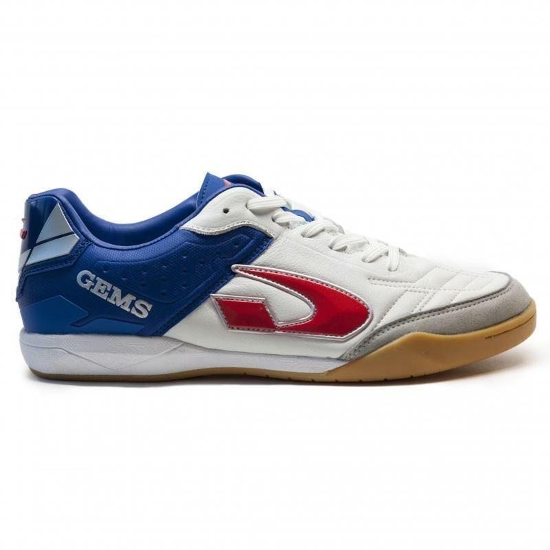 gems scarpa calcetto viper fx in bianco/blu