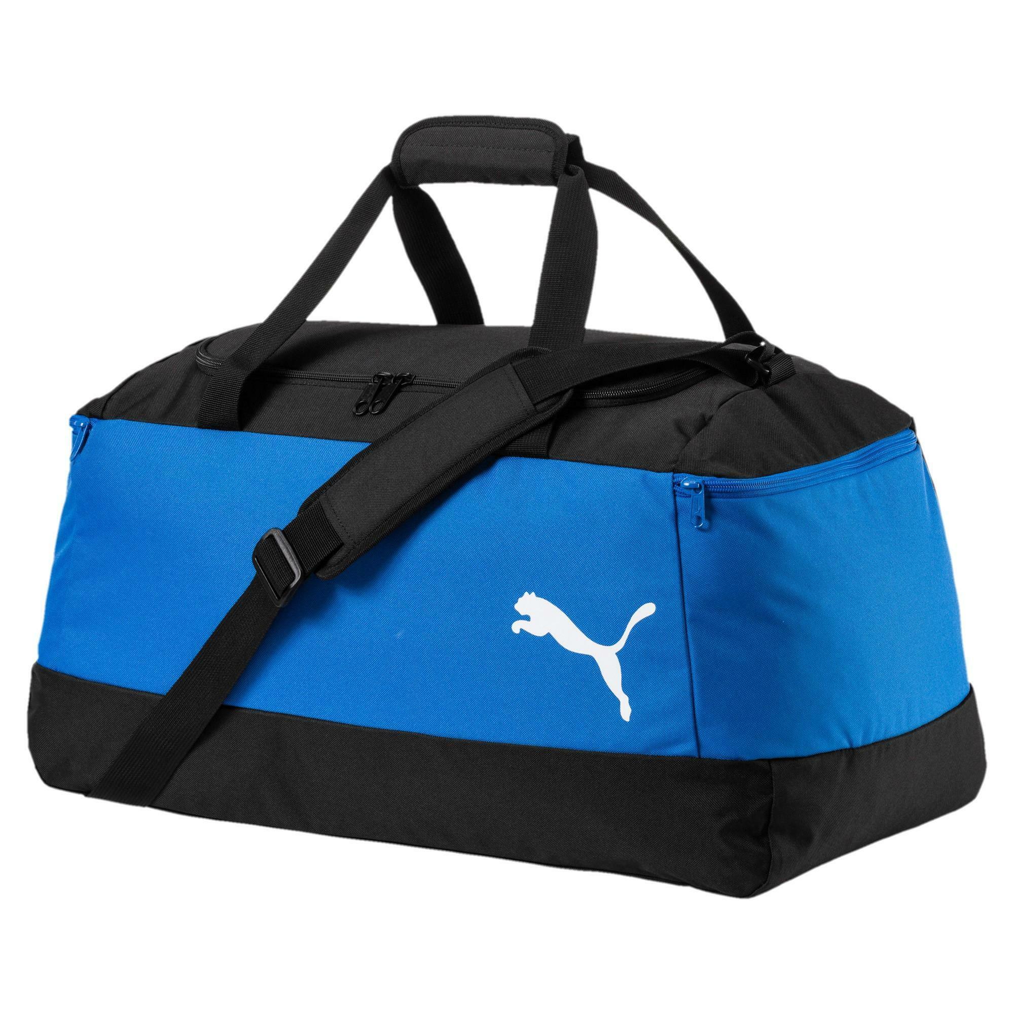 puma borsa pro training medium azzurro