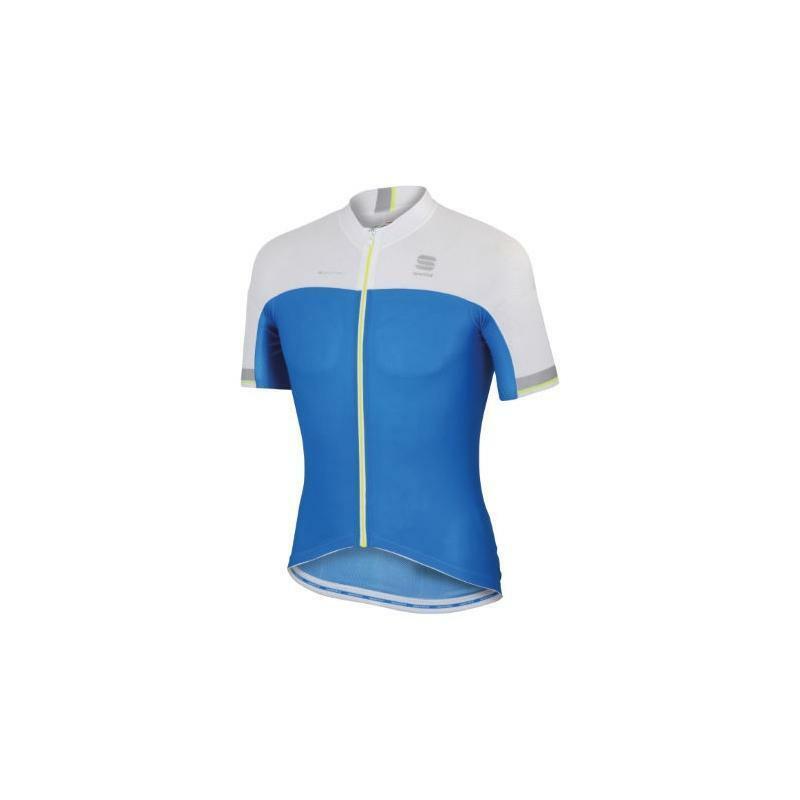 sportful sportful maglia bodyfit race bianco/blu