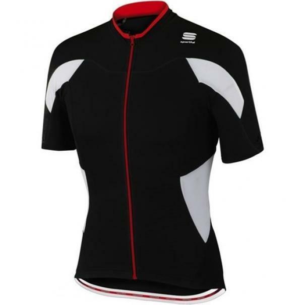 sportful sportful maglia crank jersey nero/bianco