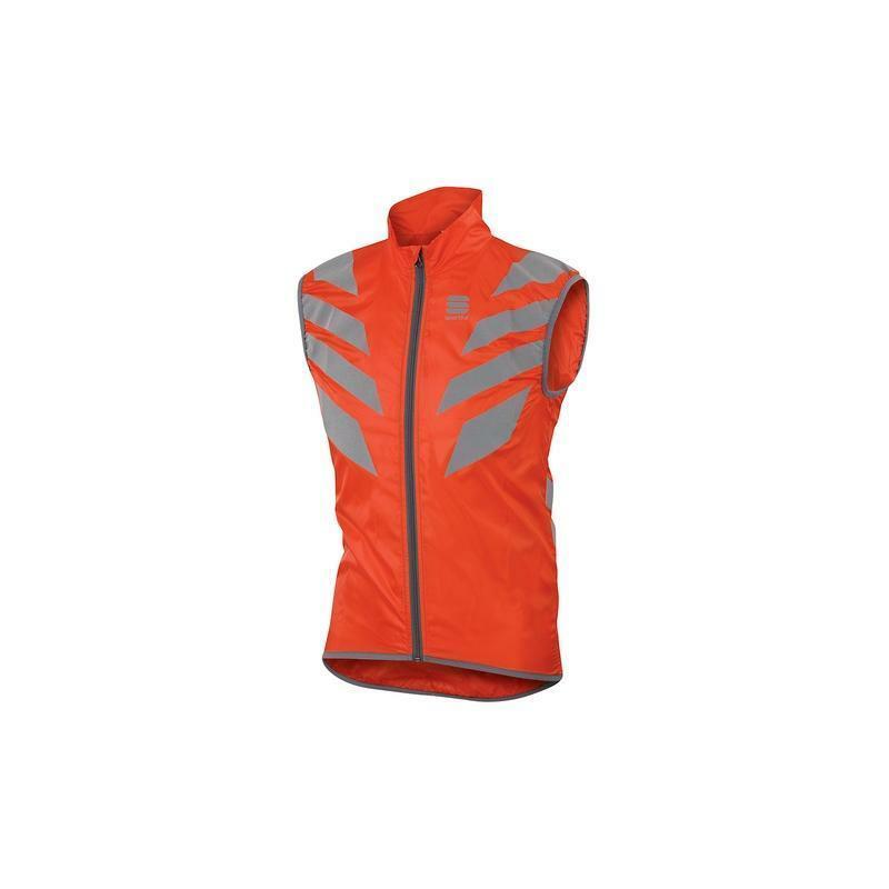 sportful gilet reflex vest rosso