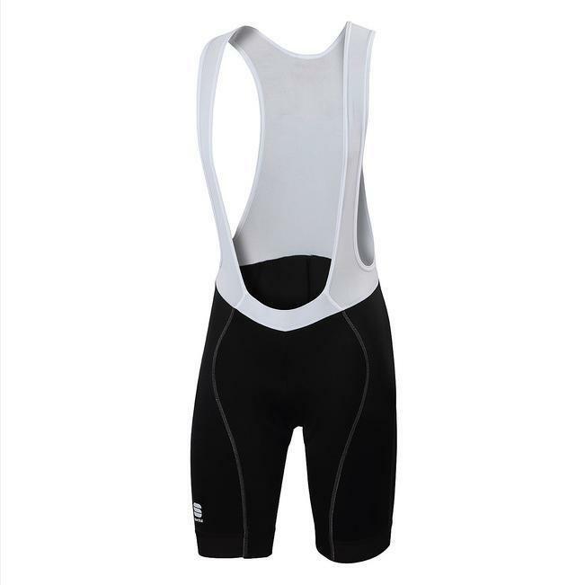 sportful sportful pantaloncino con bretelle giro nero