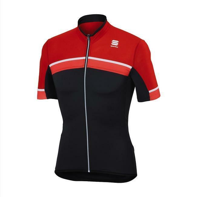 sportful sportful maglia pista jersey grigio/rosso