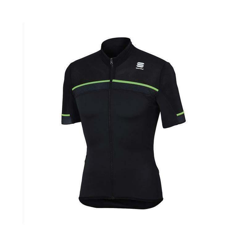 sportful sportful maglia pista jersey grigio/nero
