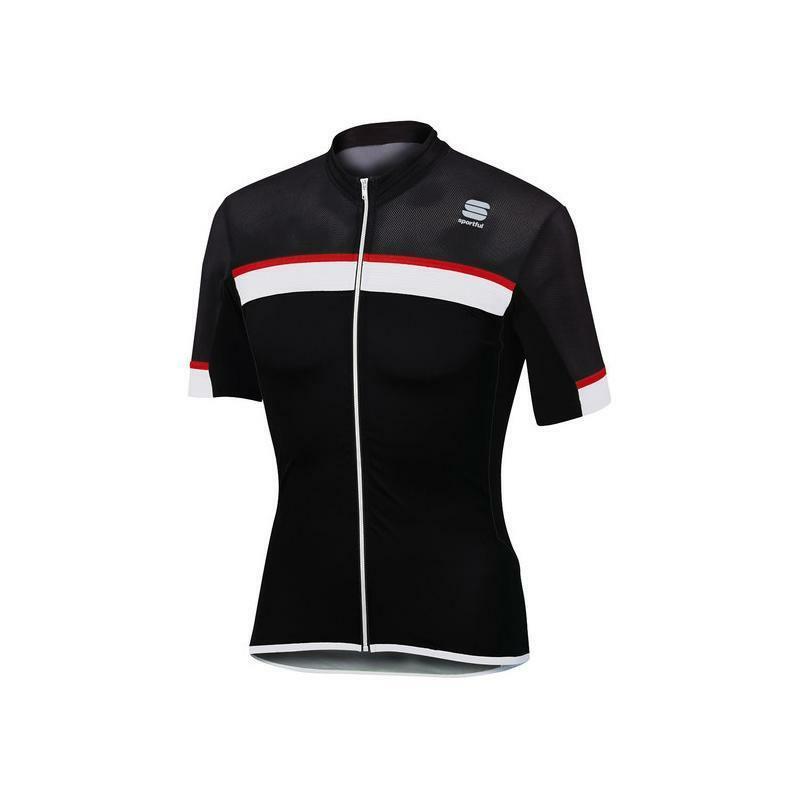 sportful sportful maglia pista jersey nero/bianco