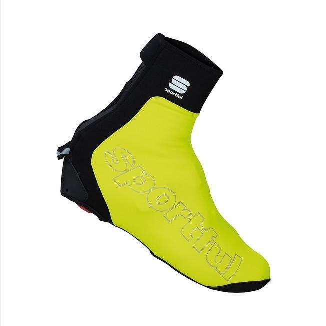 sportful sportful copriscarpa roubaix thermal giallo fluo