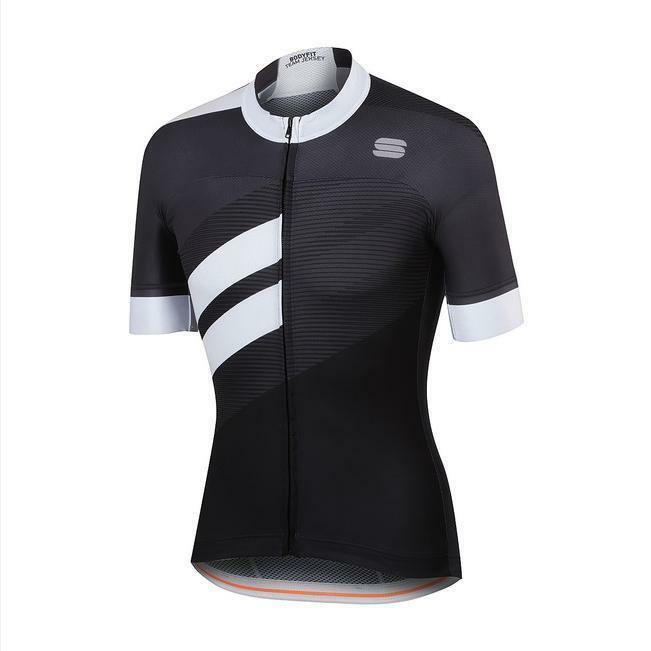 sportful sportful maglia bodyfit team nero/bianco