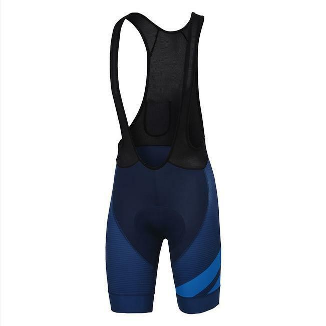 sportful sportful pantaloncino con bretelle bodyfit blu