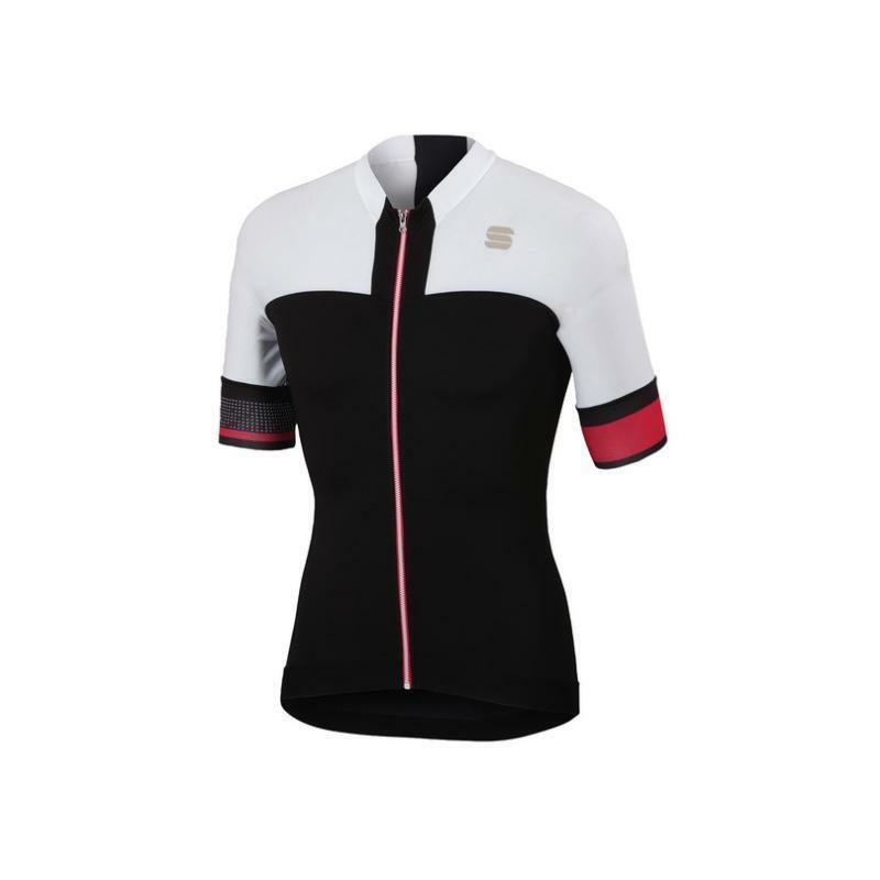 sportful sportful maglia strike nero/bianco
