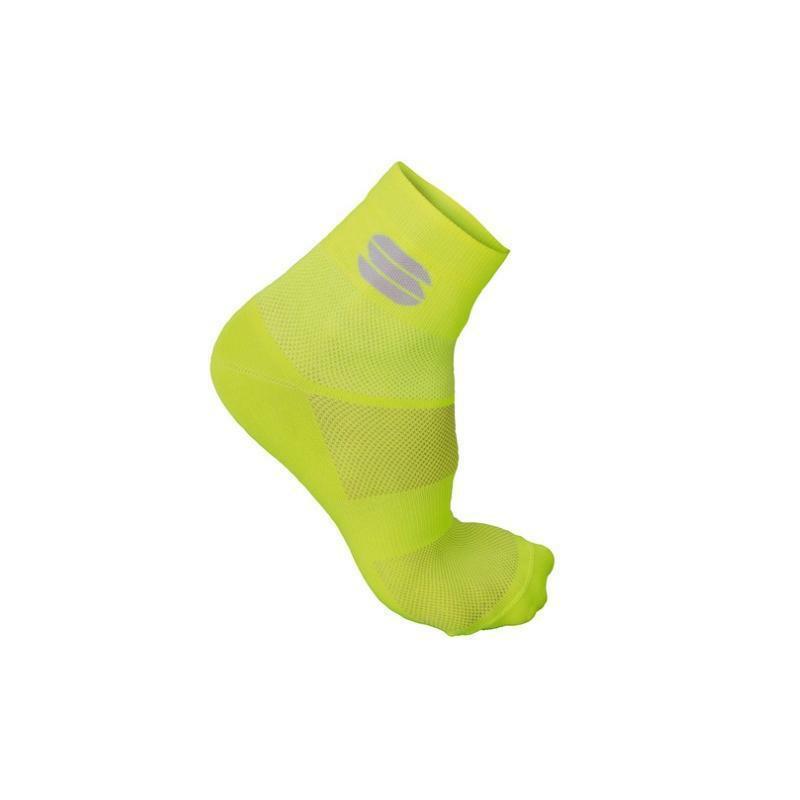 sportful sportful calza ride 10 giallo fluo