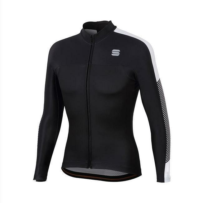 sportful sportful maglia bodyfit thermal nero/bianco