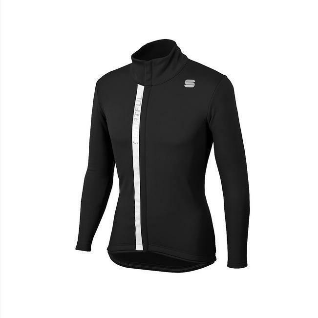 sportful sportful giacca tempo windstopper nero/bianco