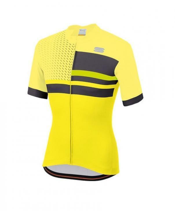 sportful maglia team 2.0 drift giallo