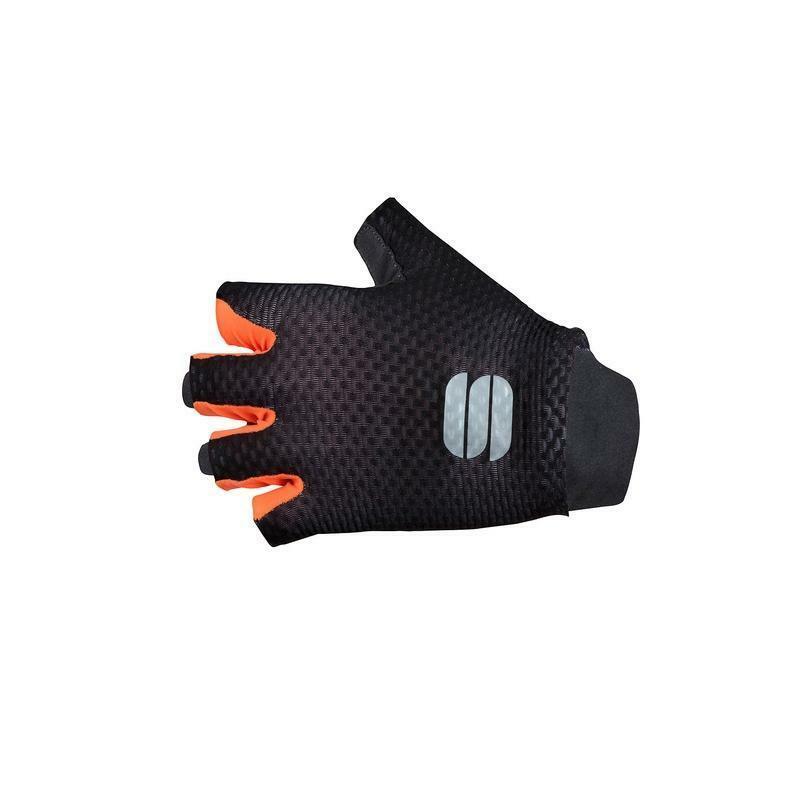 sportful sportful guanti bodyfit pro light nero/arancio
