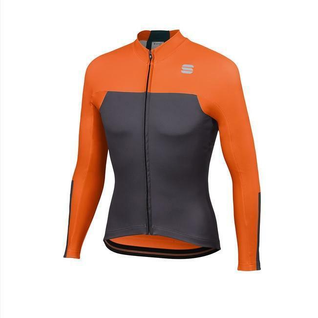 sportful sportful maglia bodyfit pro thermal nero arancio