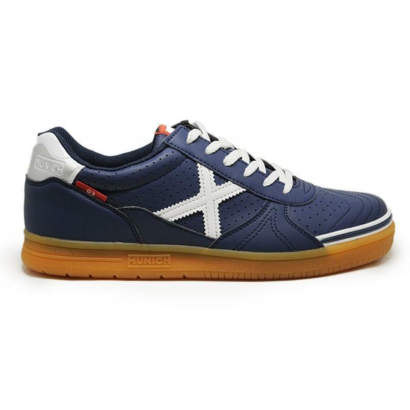 munich munich scarpa calcetto g3 profit blu