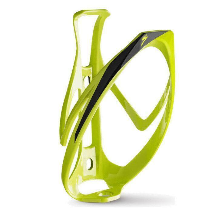 specialized specialized portaborracce bici rib cage ii verde fluo