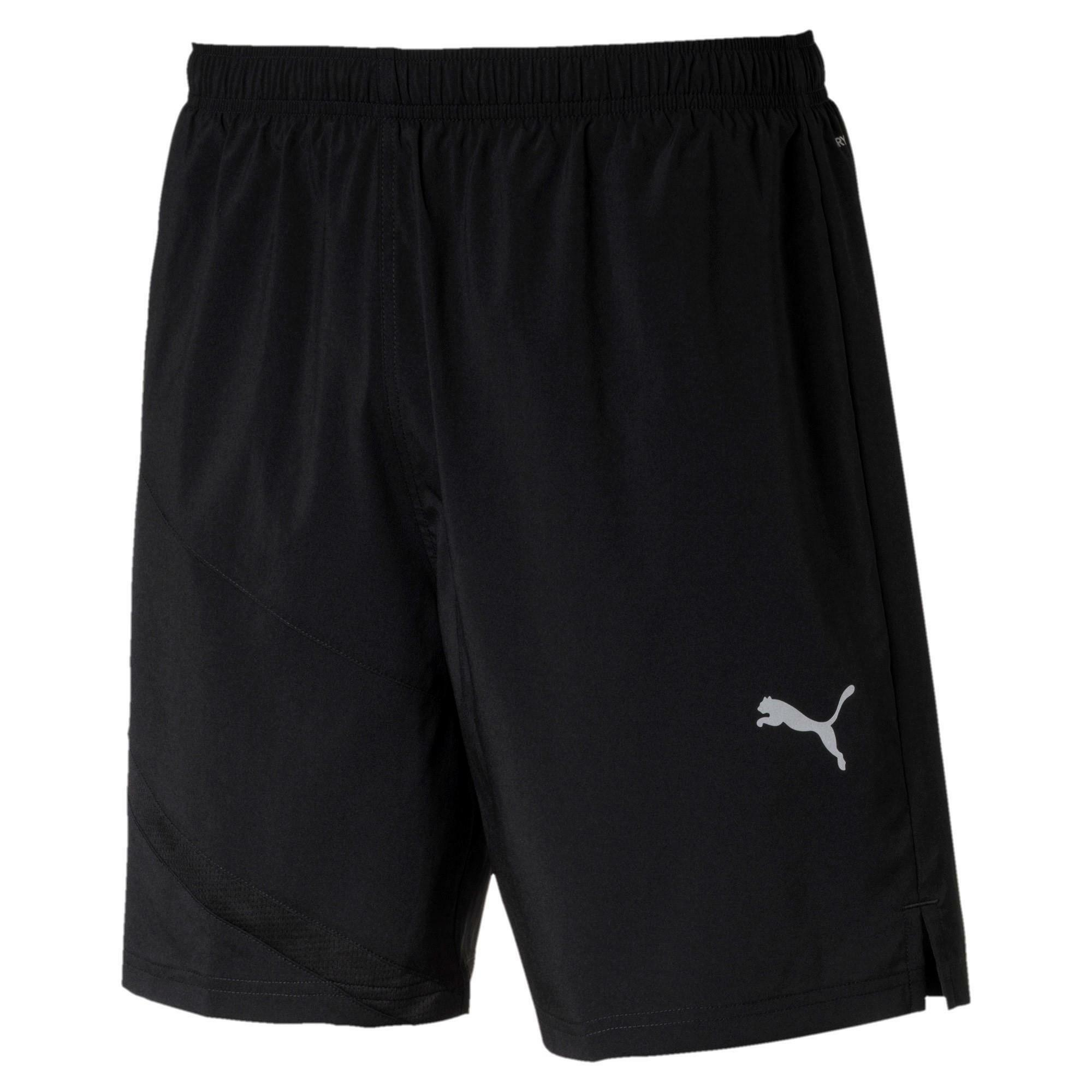 puma puma pantaloncino ignite blocked 7 nero