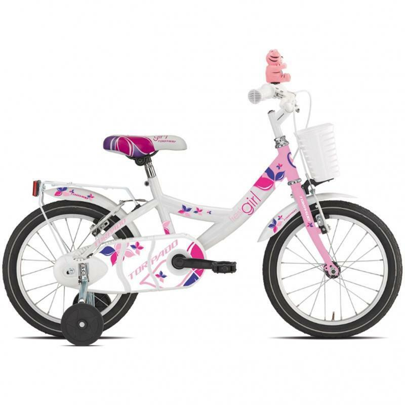 torpado torpado bici bambina trilly rosa