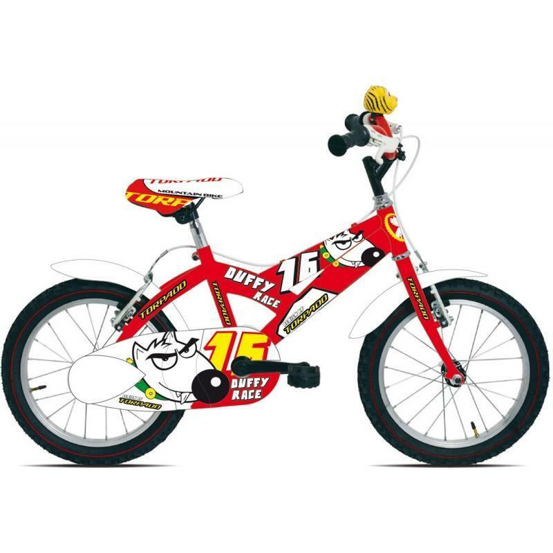 torpado torpado bici bambino duffy rosso