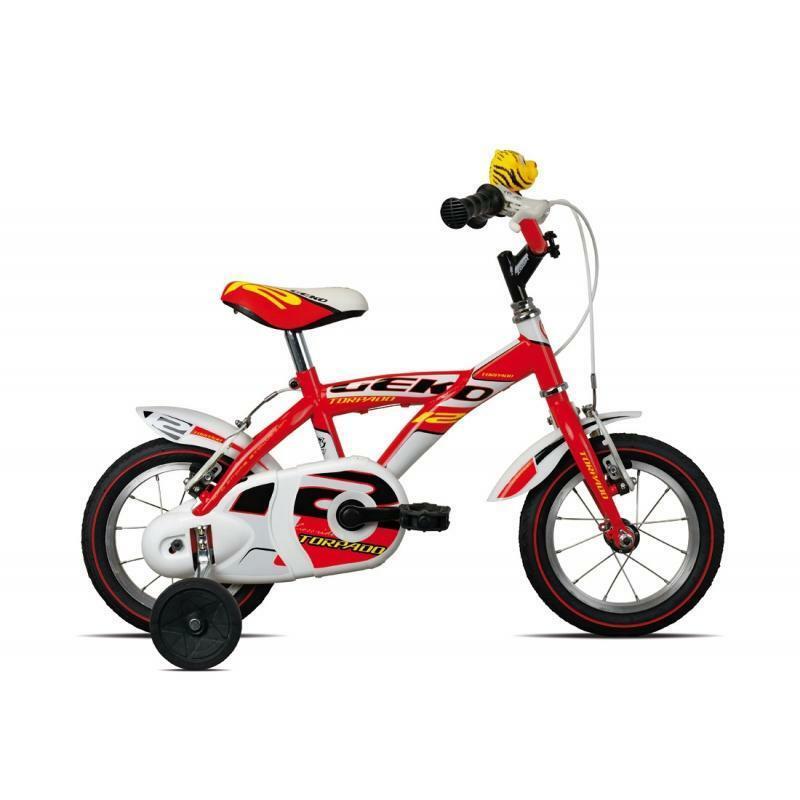 torpado torpado bici bambino geko rosso