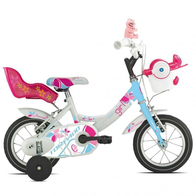 torpado torpado bici bambina titty azzurro