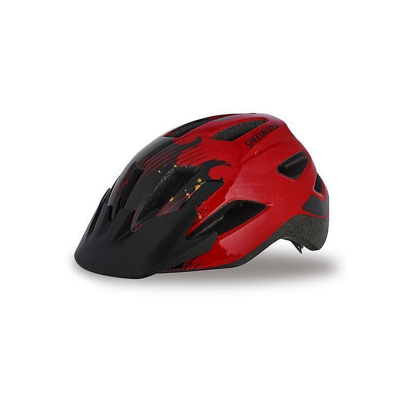 specialized specialized casco bici bambino shuffle rosso