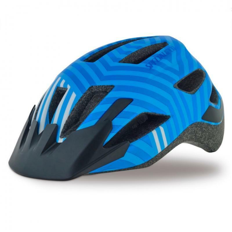 specialized casco bici bambino shuffle blu