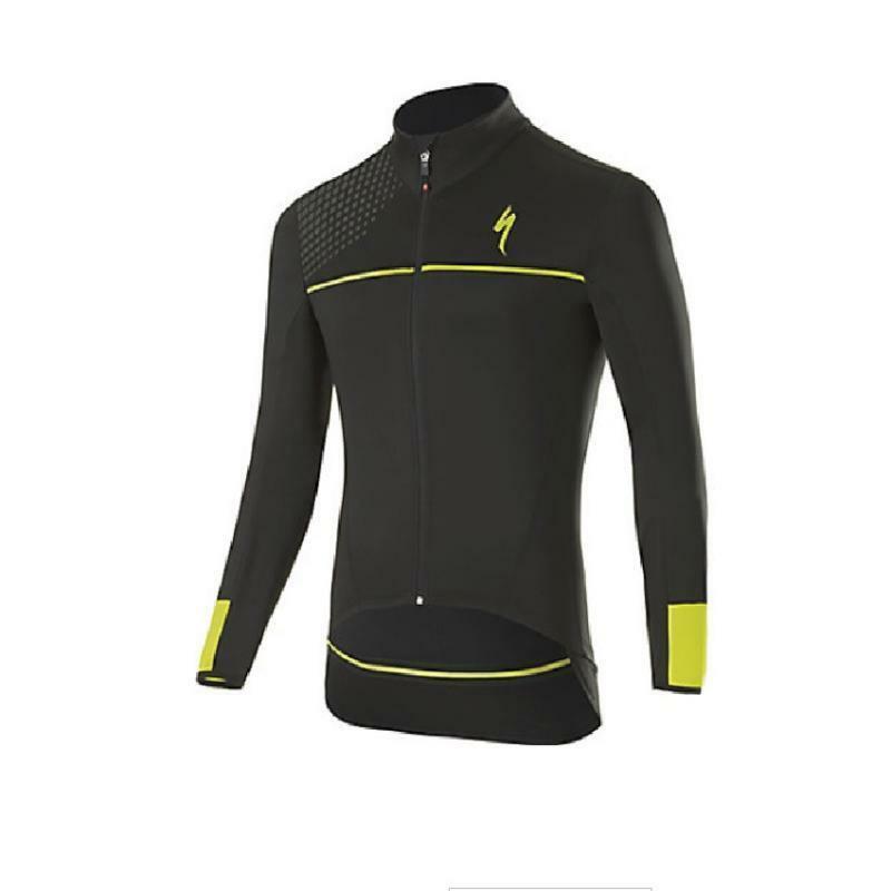 specialized specialized giacca element sl elite race nero/giallo
