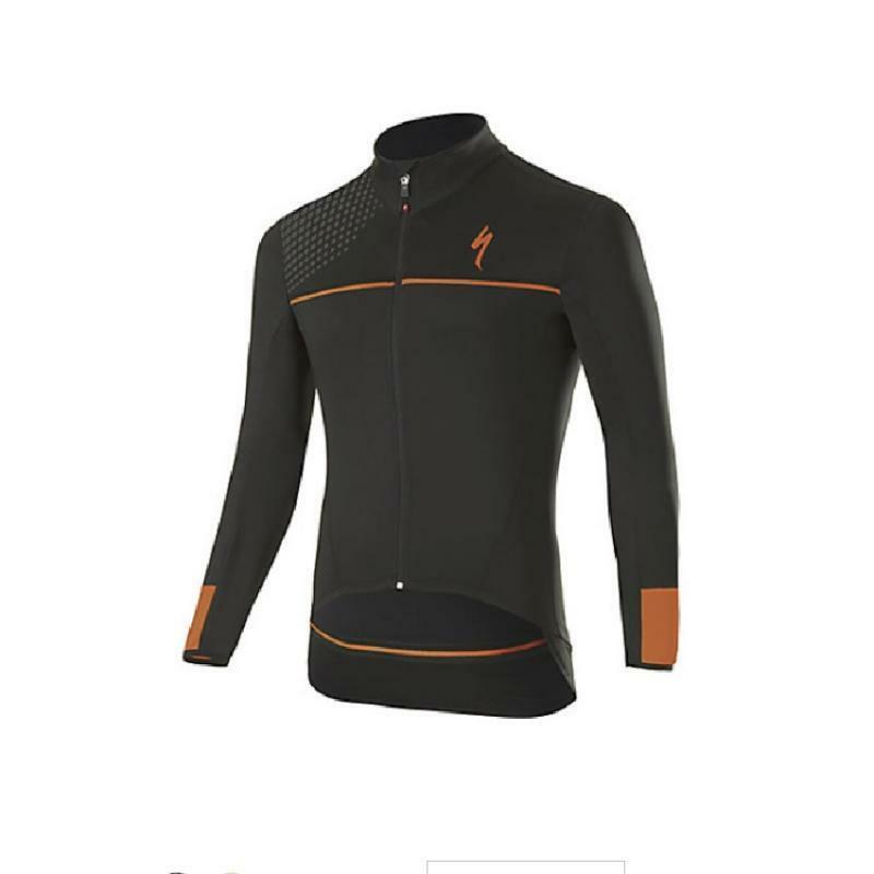 specialized specialized giacca element sl elite race nero/arancio