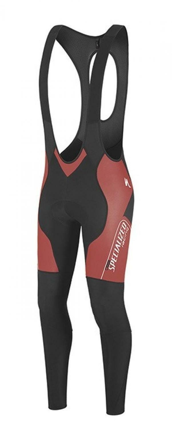 specialized specialized calzamaglia therminal sl team pro rosso/nero
