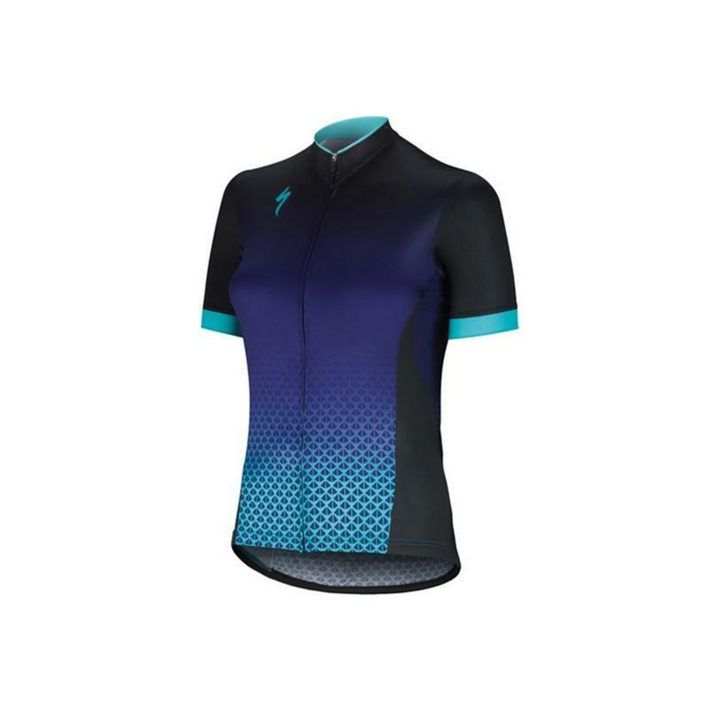 specialized specialized maglia sl elite donna nero/azzurro