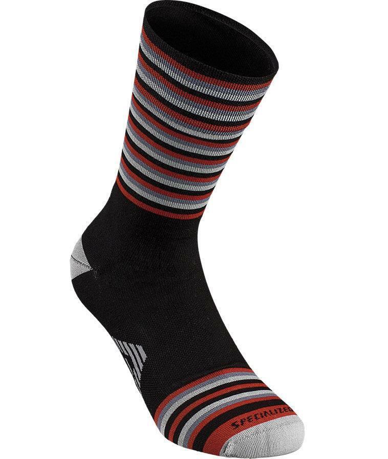 specialized specialized calza a righe nero