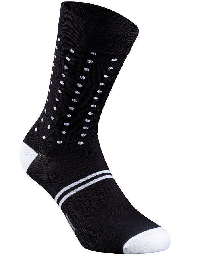 specialized specialized calza a pois unisex nero/bianco