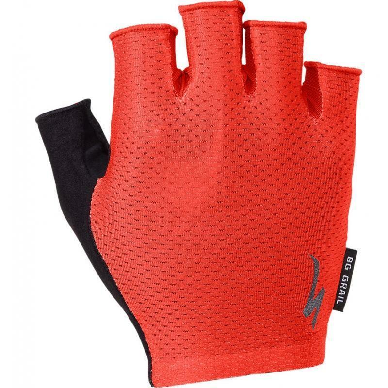 specialized specialized guanti body geometry grail rosso