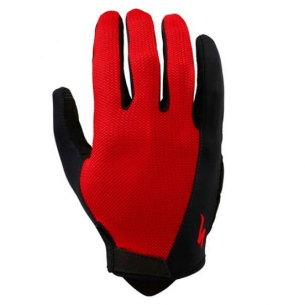 specialized specialized guanto bg sport dita lunghe rosso