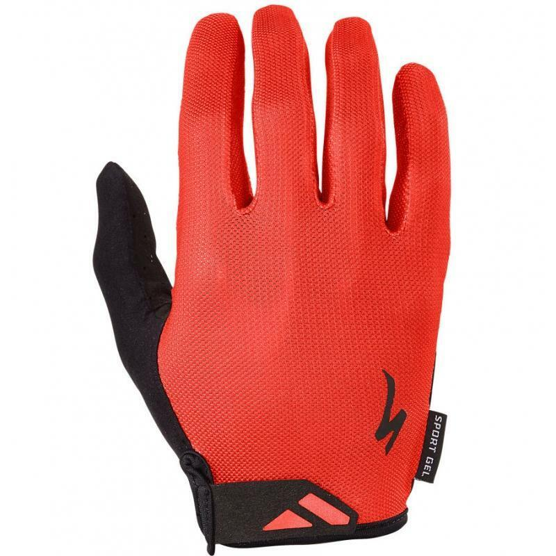specialized specialized guanti body geometry sport gel rosso