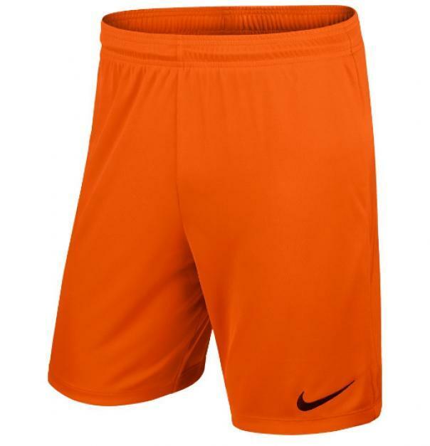 nike nike pantaloncino park ii arancio