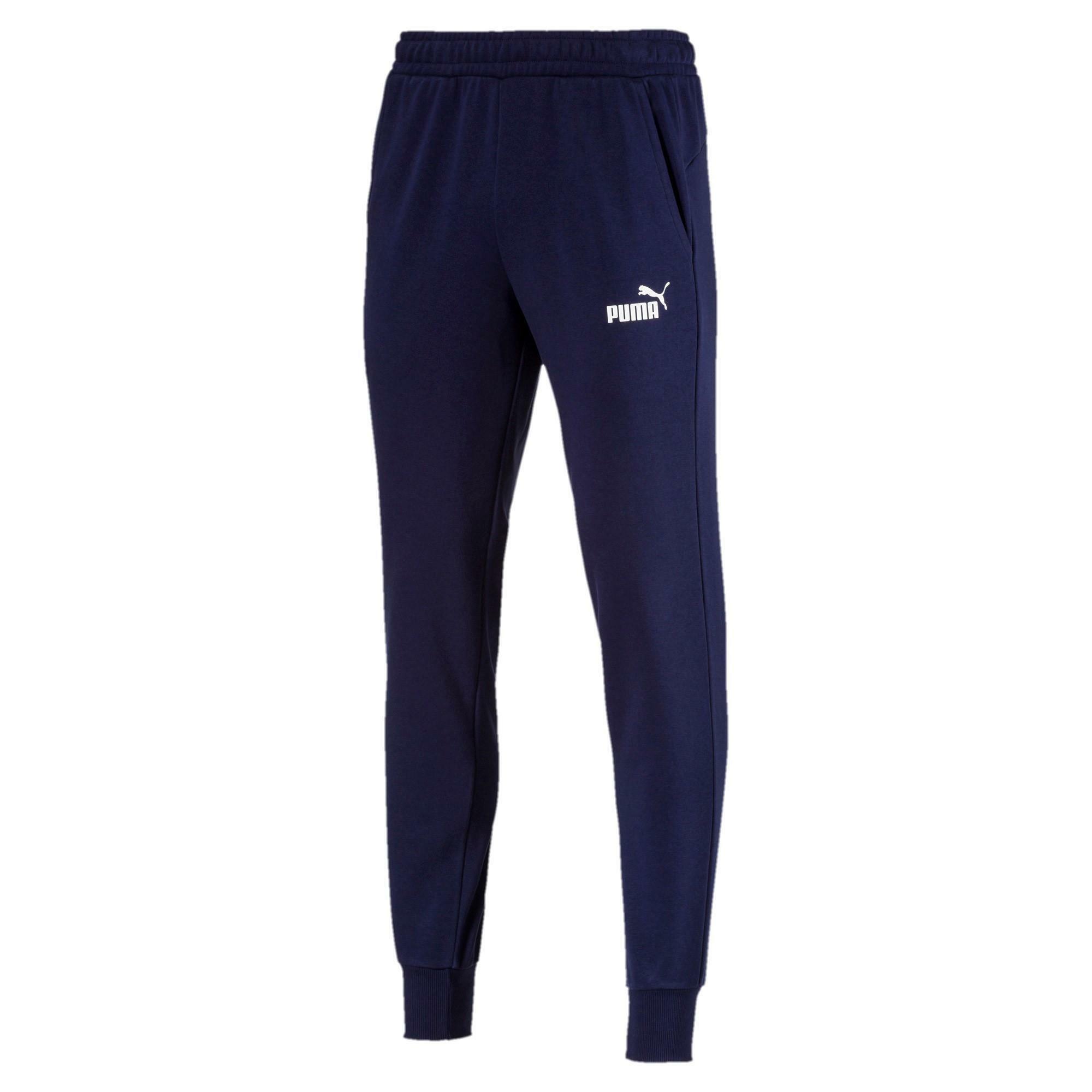 puma puma pantalone essentials blu