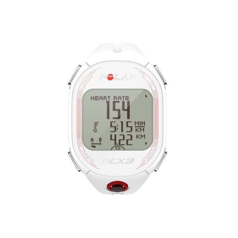 polar polar cardiofrequenzimetro rcx3 gps bianco