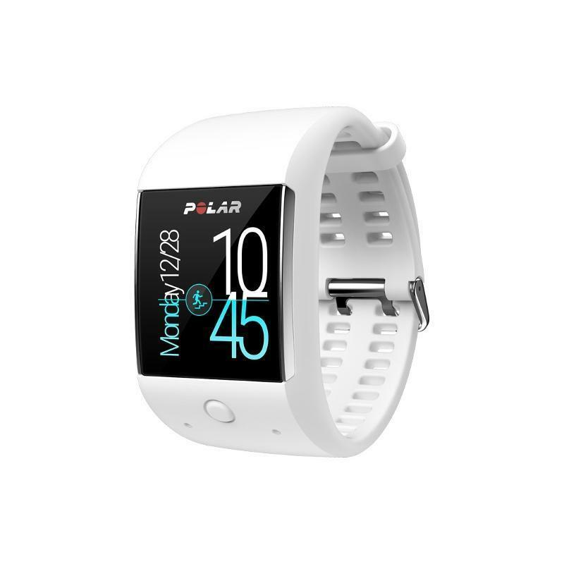 polar polar smartwatch m600 bianco