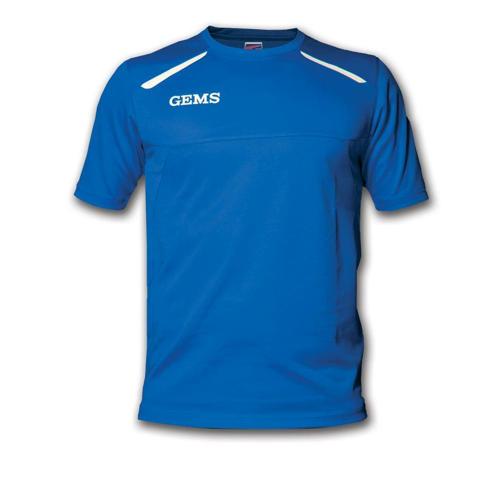 gems gems maglia sportiva sud carolina azzurro