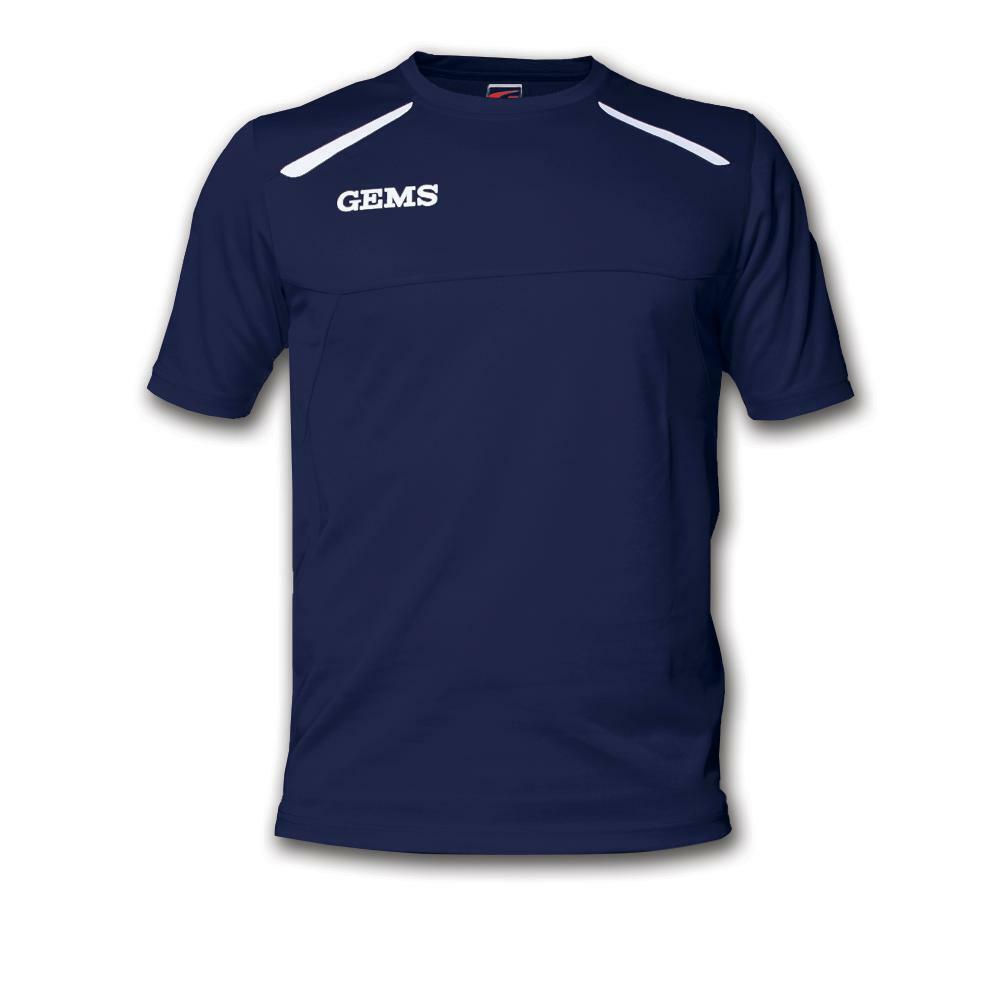gems gems maglia sportiva sud carolina blu