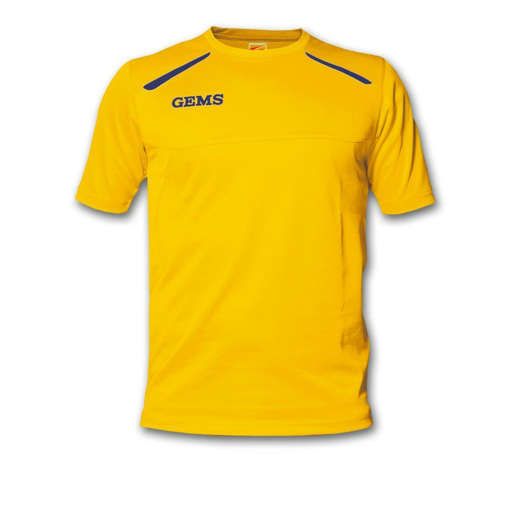 gems gems maglia sportiva sud carolina giallo
