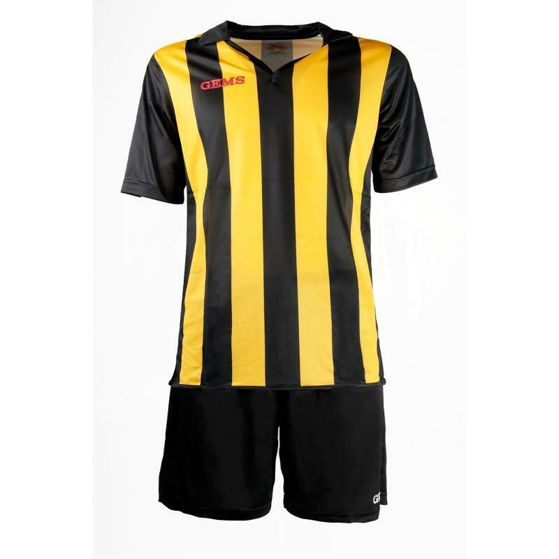 gems gems kit calcio virginia nero/giallo