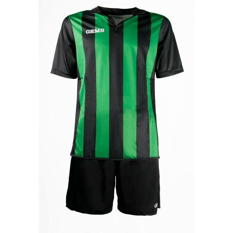 gems gems kit calcio virginia verde/nero