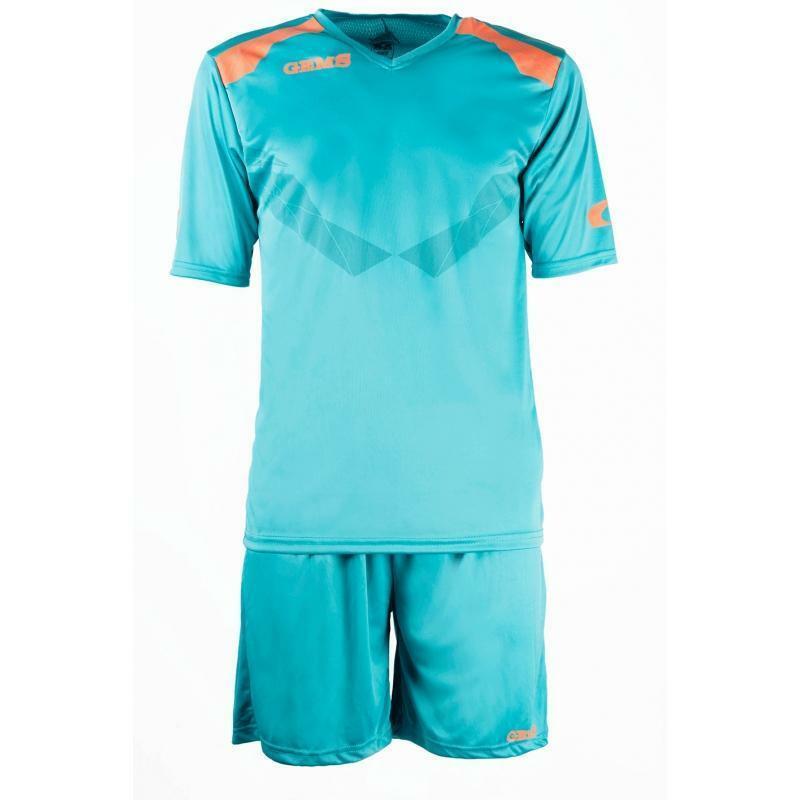 gems gems kit calcio raptor azzurro/arancio