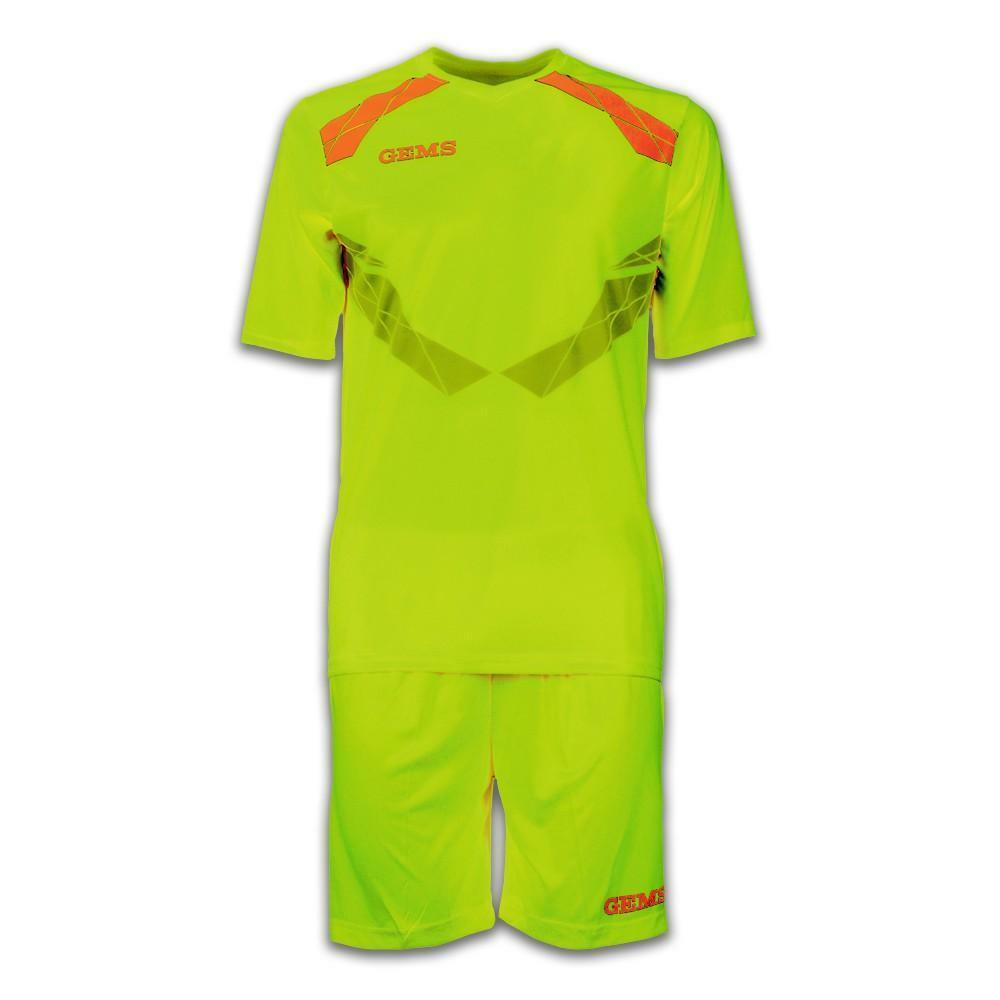gems gems kit calcio raptor giallo fluo